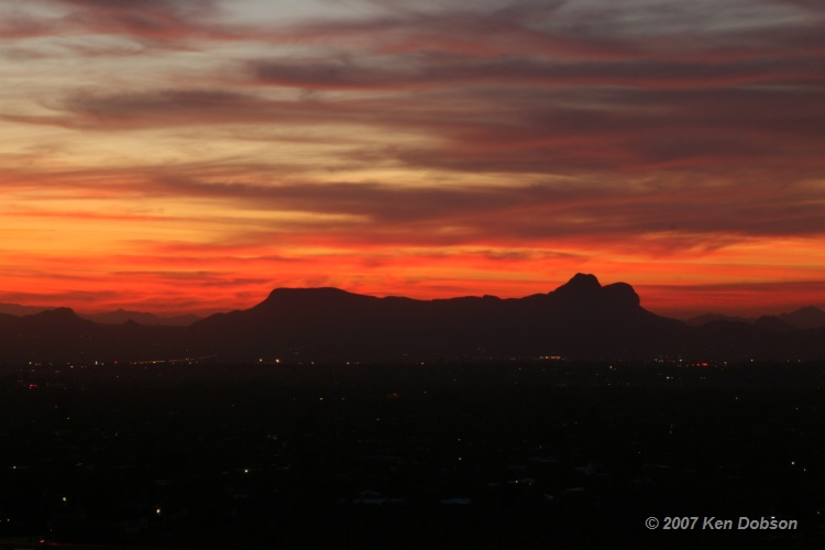 Oro Valley Sunset Part Deux