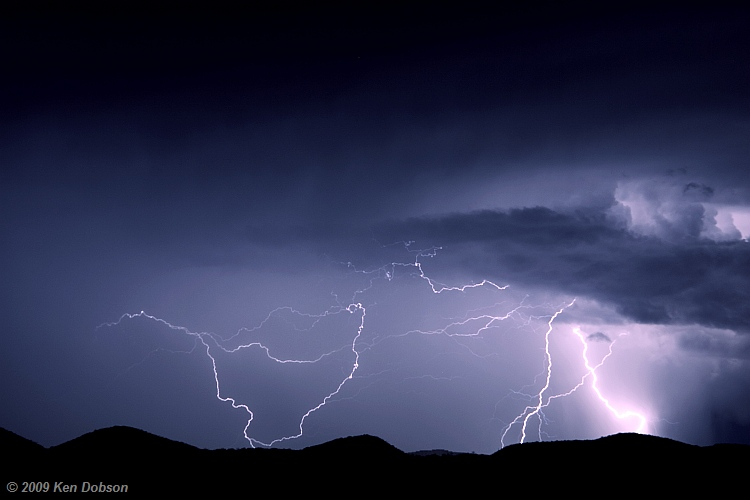Lightning: Sasabe, Arizona
