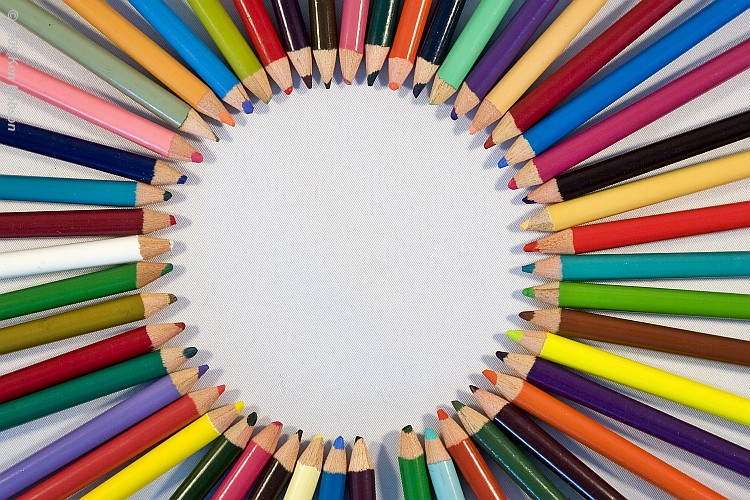 Circled Pencils