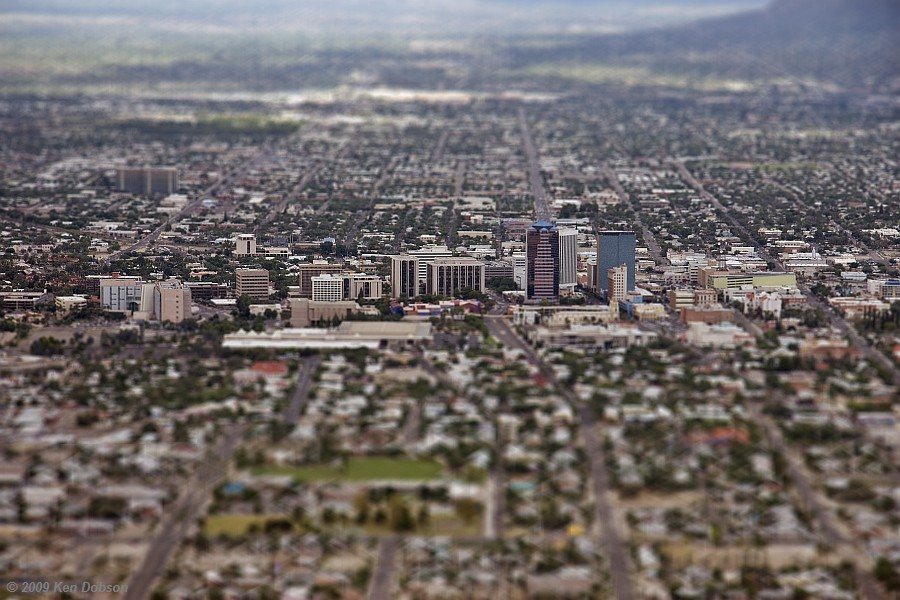 Tucson - Tilt/Shift Version