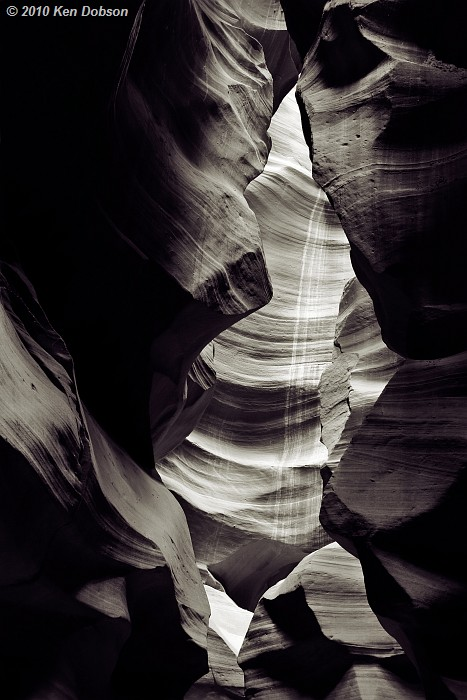Antelope Canyon #2 (B&W version)