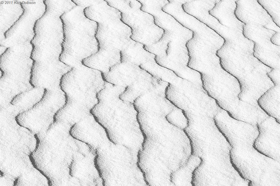 White Sand Waves