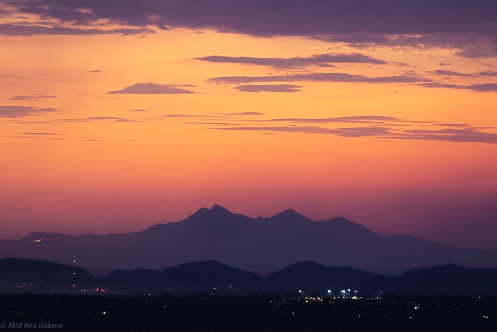 Tucson Mountain Sunset