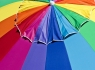 Colorful Football Beach Umbrella #2