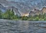 Yosemite El Capitan - HDR Panorama #2