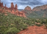 Sedona Chapel Panorama (15 images)