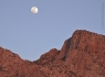Full Moon over Pusch Ridge
